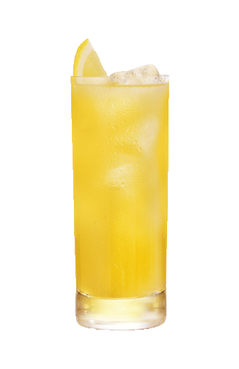 Mango siroop in een glas